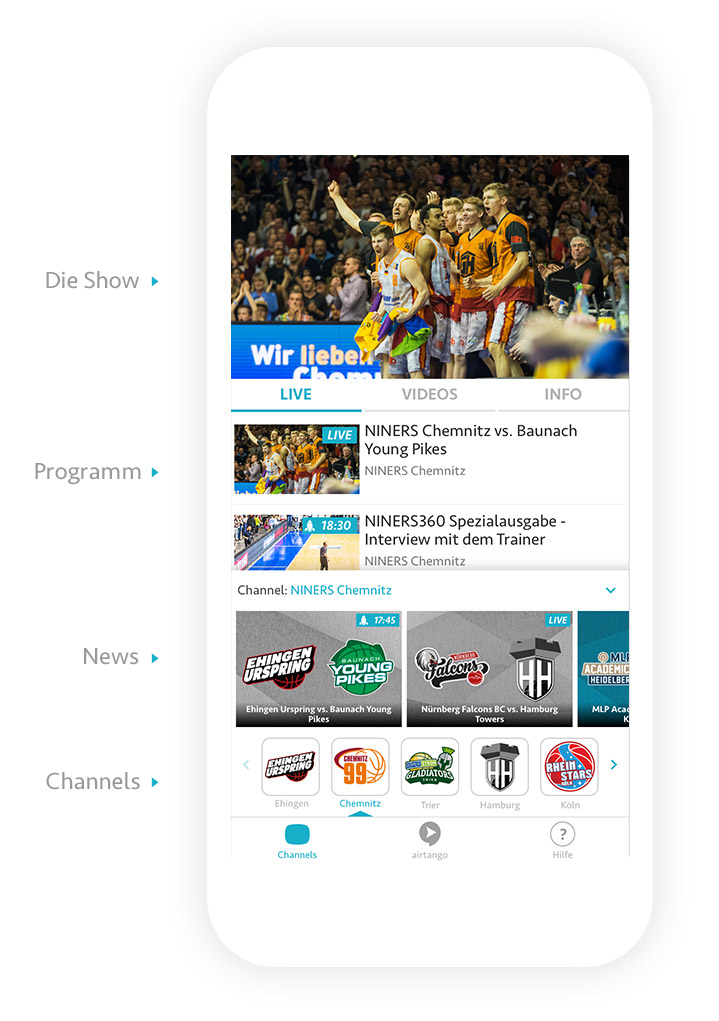 live stream live übertragungen
